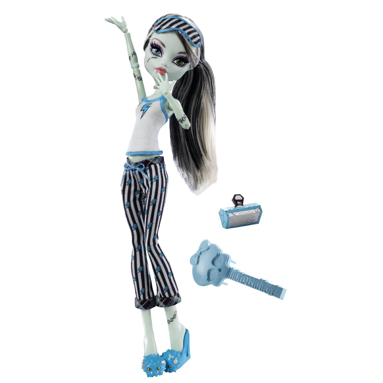 куклы монстер хай пижамная вечеринка картинки