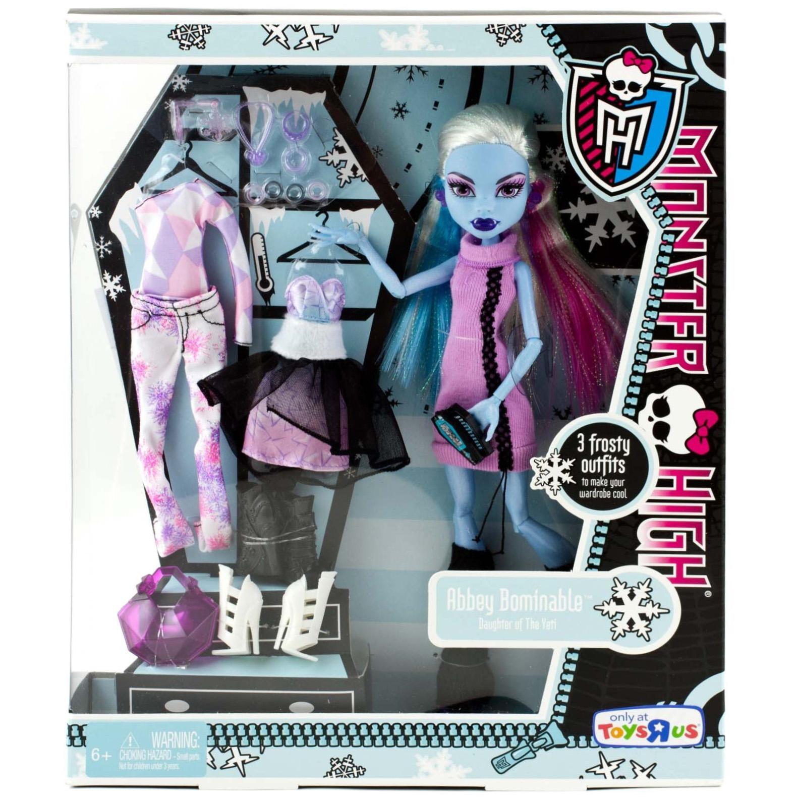 Кукла Эбби Боминейбл из серии Я ♥ моду - Monster High - интернет ...